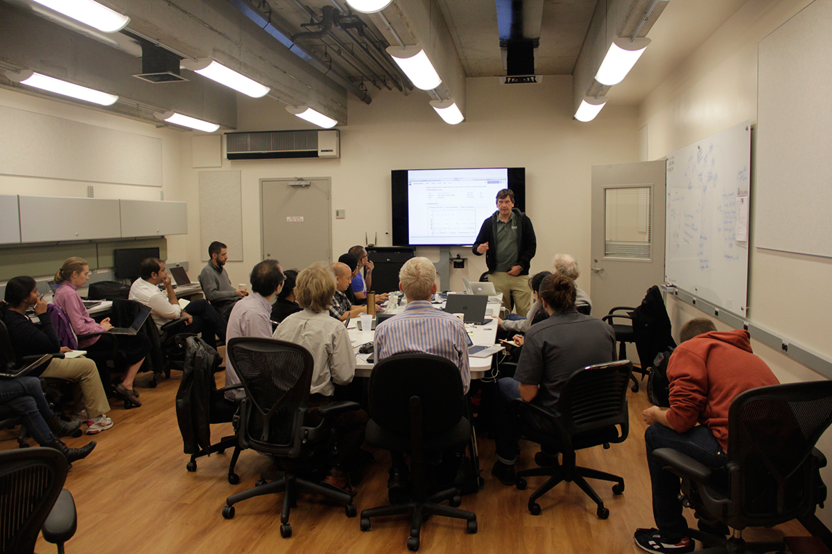 Plant scientists tackle big data problems at workshop
