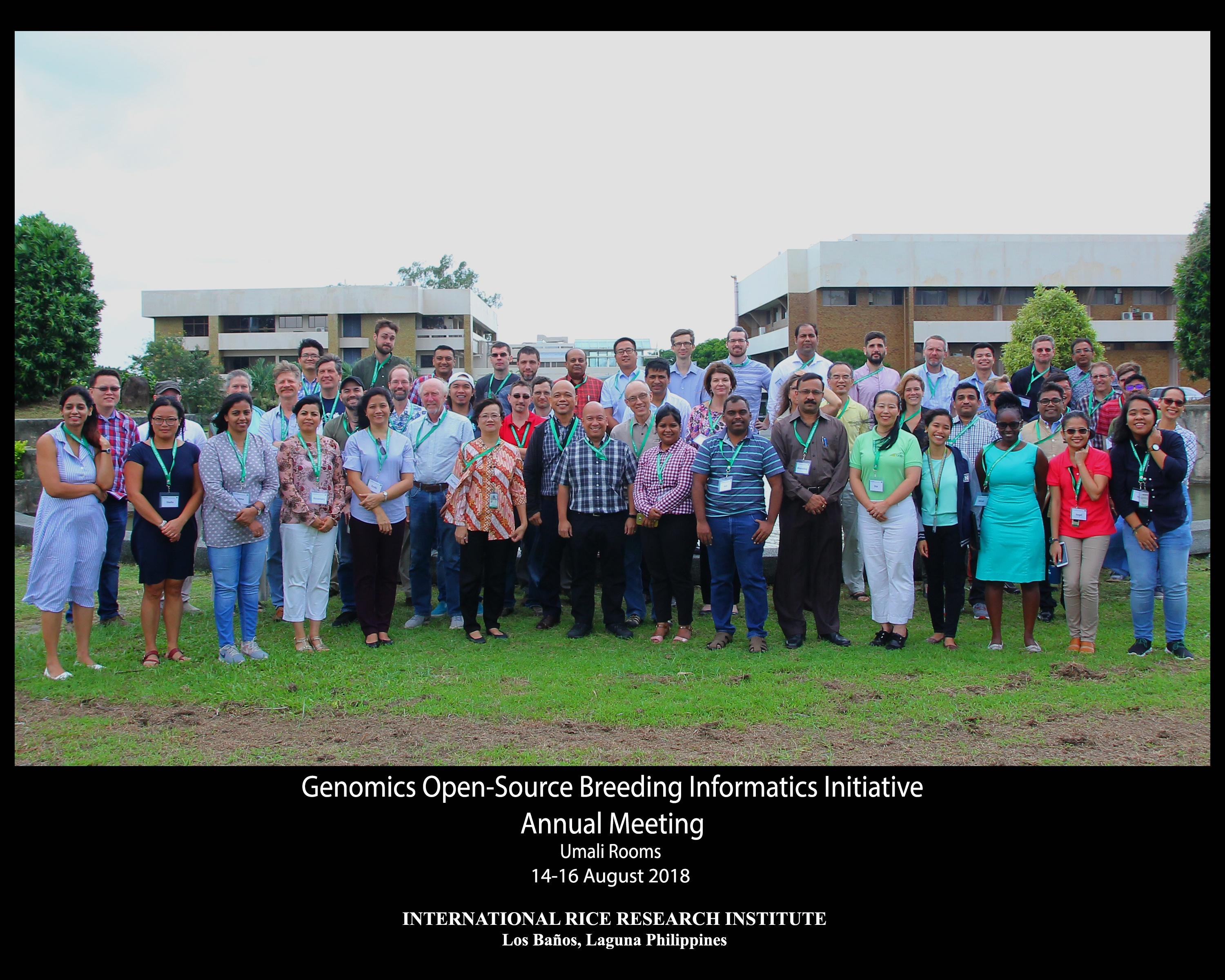 GOBii annual meeting at IRRI, Los Banos, the Philippines 8 2018